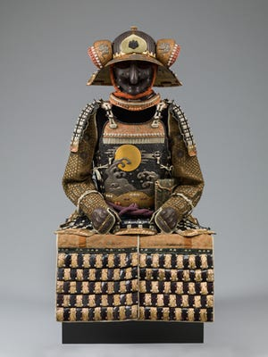 Japan, Suit of Armor, Late 18th century, metal, leather.