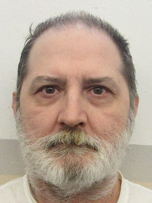 This undated photo provided by Alabama Department of Corrections shows Alabama inmate Jeffery Borden in Atmore, Ala. Borden is facing execution by lethal injection after being convicted of killing his wife and father-in-law during a 1993 Christmas Eve gathering. The Alabama attorney general on Monday, Oct. 2, 2017, asked the nation's high court to overturn an injunction blocking Thursday's execution of Borden.