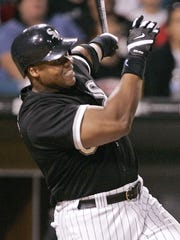 Frank Thomas hit .301 with 524 homers and 1,704 runs batted in over 19 seasons.