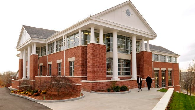 The Fels Student Center at Nichols College. The Dudley college, like others in Central Mass., said it plans to reopen this fall.
