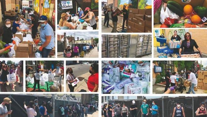 Em 13 semanas, o Centro do Trabalhador Brasileiro ajudou 7.145 famílias, afectadas pela crise da Covid-19.