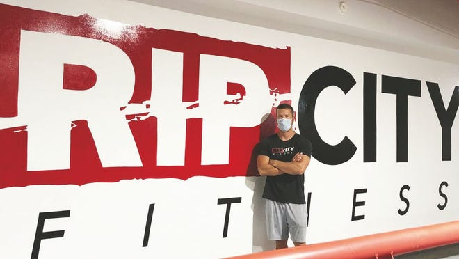 Barry Stover, co-owner of RipCity Fitness, is ready to get back his gym back in business.