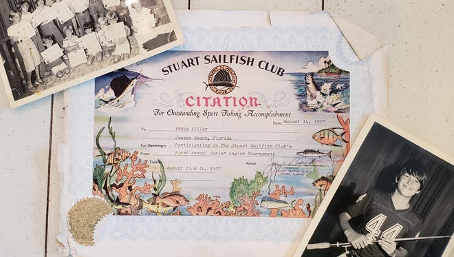 The first Stuart Sailfish Club Junior Angler Tournament took place in 1977, and Ed Killer fished in it.