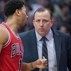 Tom Thibodeau and Derrick Rose went to one conference finals together with the Bulls.