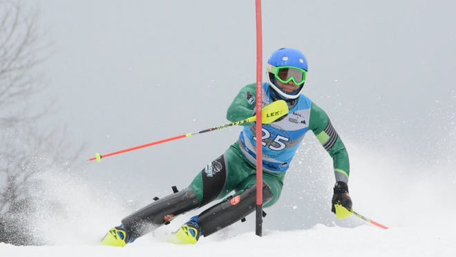 Former Central York athlete Christian Kennedy is the only African-American ski racer in NCAA Division I. He competes for Plymouth State University in New Hampshire.