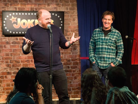 Louis C.K. is Louie and Jim Florentine is Kenny on