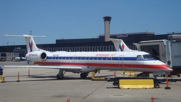 This file photo from July 11, 2009, shows a Embraer