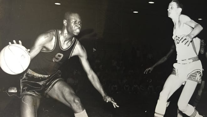 Neptune's Colony Ramsey (9) shown playing for Neptune in 1961.