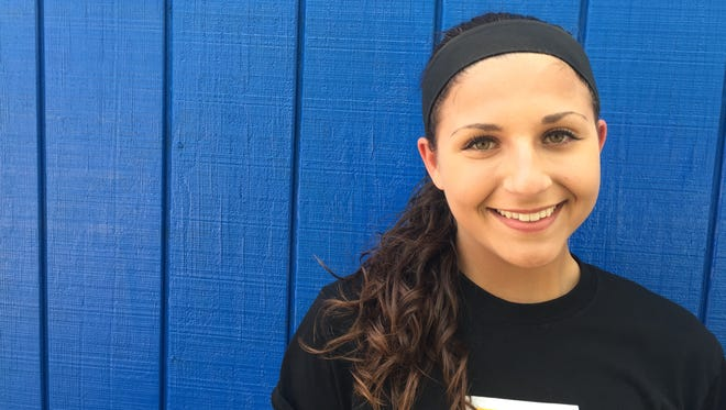 Irondequoit junior shortstop Maria Marcera