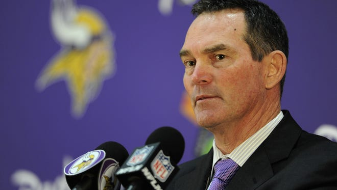 Getty Images Mike Zimmer of the Minnesota Vikings speaks to the media after being introduced as the new head coach during a press conference on Jan. 17, 2013, at Winter Park in Eden Prairie, Minn. The Vikings? Mike Zimmer brings an extroverted and hard edge to coaching.  Getty Images EDEN PRAIRIE, MN - JANUARY 17: Mike Zimmer of the Minnesota Vikings speaks to the media after being introduced as the new head coach during a press conference on January 17, 2013 at Winter Park in Eden Prairie, Minnesota. (Photo by Hannah Foslien/Getty Images)