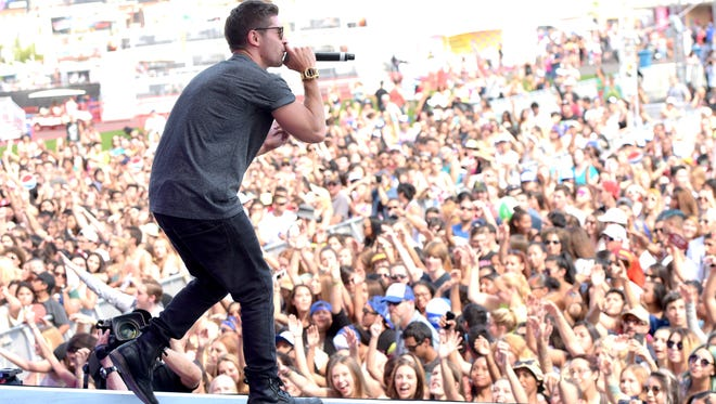 Jake Miller: From the supermarket to the stage.