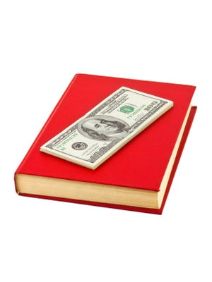 Money and book
