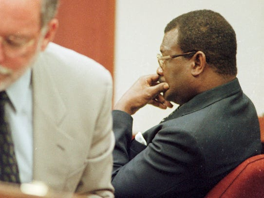 William Wright sits in an Indian River County courtroom