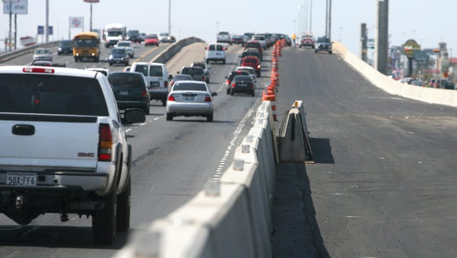 All construction work that might affect traffic on TxDOT's $49.9 million Ramp Reversal Project is set to pause during the Memorial Day weekend.