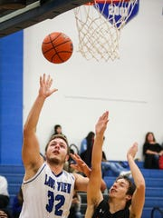Lake View's Henry Nickias throws the ball past Ballinger