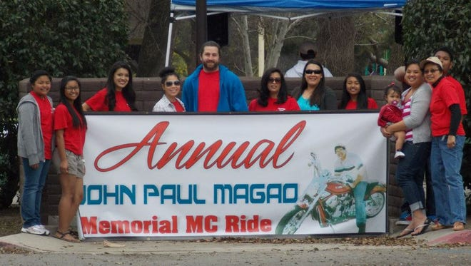 The 8th Annual JPM Memorial Motorcycle Ride is Saturday, March 5,  at Plaza Park, 700 S Plaza St. Visalia. Motorcycle registration starts at 8:30 AM. Kick Stands up at 10:00 AM. Lunch at 12:00 PM.