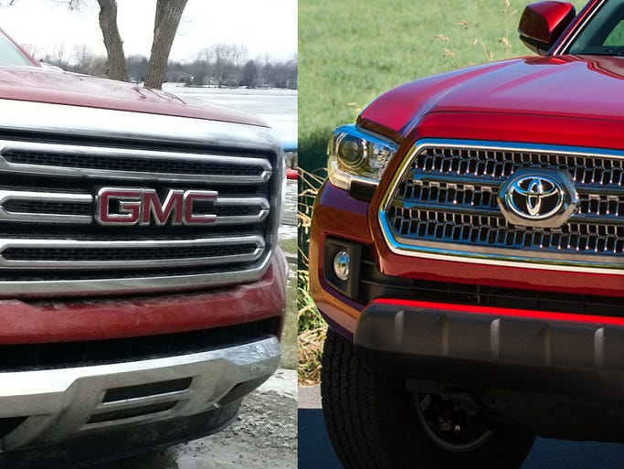 The 2016 GMC Canyon Diesel or the 2016 Toyota Tacoma