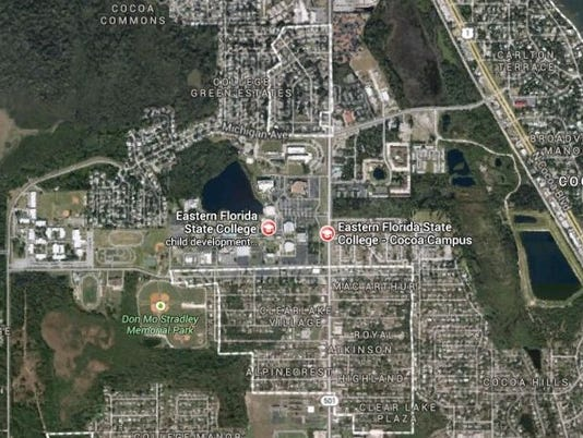 Eastern Florida State College Map.Building At Efsc Cocoa Evacuated For Possible Gas Leak