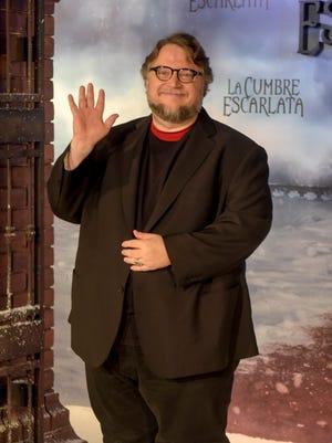 Director Guillermo del Toro poses during a photocall for his latest film 'La Cumbre Escarlata', Crimson Peak on October 5, 2015 in Barcelona, Spain.