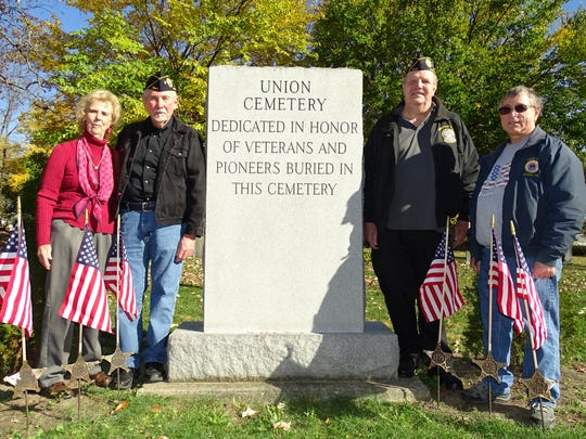 The team that helped memorialize the veterans at Union