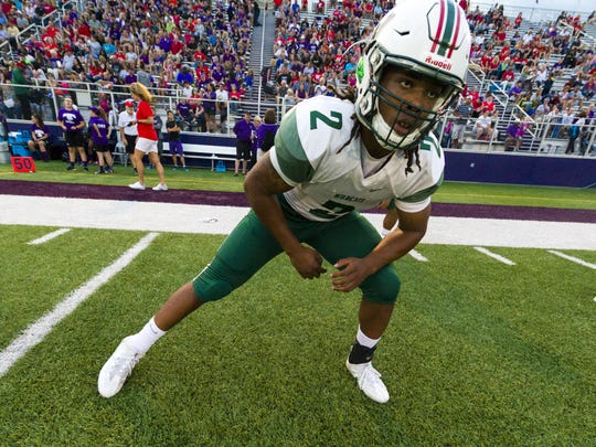 Lawrence North's Al McKeller  posted big numbers in