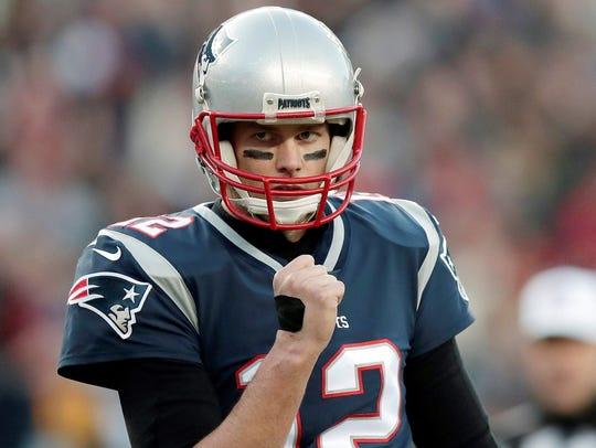 New England Patriots quarterback Tom Brady. AP FILE PHOTO