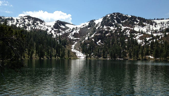 The hike to Deadfall Lakes in the Trinity Divide is a cool option for a summer outing.