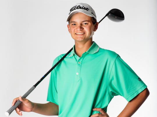 2016 Fall Player of the Year finalist David Morgan, Seacrest Country Day High School golf