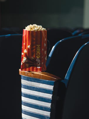 Popcorn at The Little Theatre