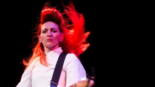 My Brightest Diamond performs at the Bijou Theatre for Big Ears Festival on Thursday, March 23, 2017.