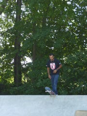Jeremy Picado, a local Plainfield skateboarder, about