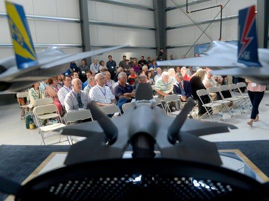 Lockheed Martin brought its F-35 Lightning II cockpit