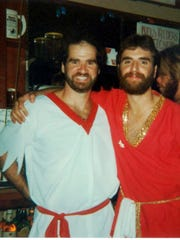 From left: Dolphin owner Mick Viniski and his brother,