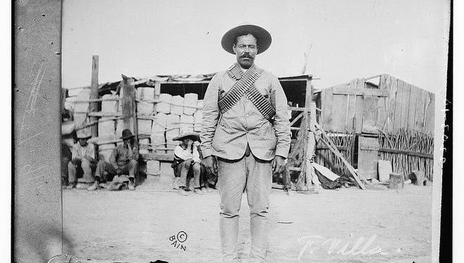 "Francisco ""Pancho"" Villa, in 1911, was the leader of rebel forces in the North during the Mexican Revolution."