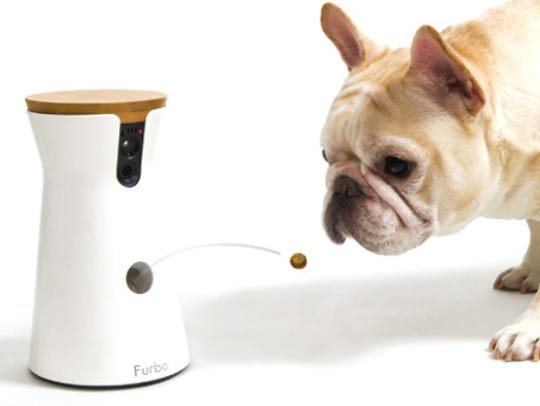 Furbo ($249.00) is a treat-shooting dog camera that