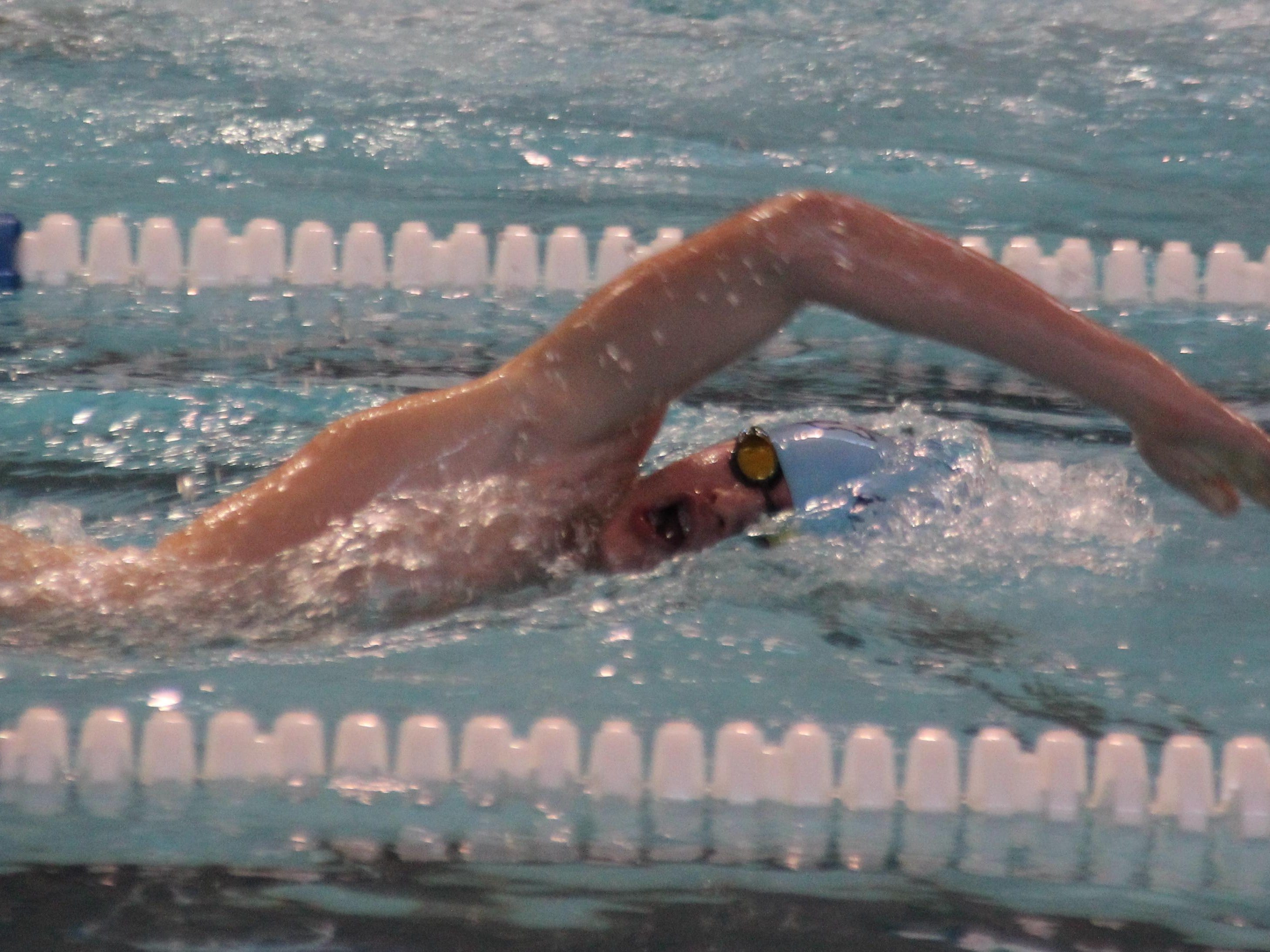 Nick Berry is Boone County's top returning swimmer.
