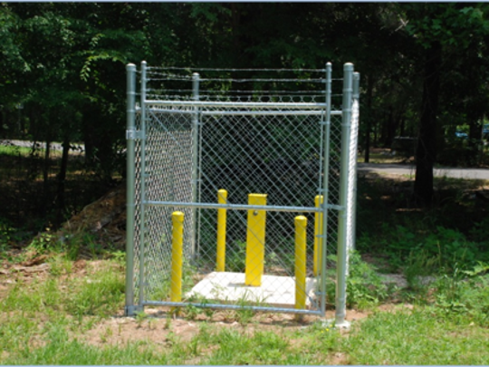 The Hanna Park monitoring well