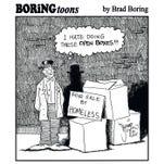 Brad Boring cartoon February 2017