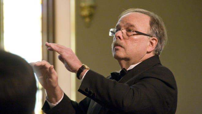 On Saturday, Bruce Borton will conduct his final Binghamton University Chorus concert before his retirement.