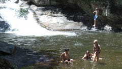 1 man's guide to exploring waterfalls in Upstate South Carolina and Western North Carolina