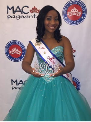 Arianna Moore was honored as Miss New Jersey and will represent the state in Nationals.