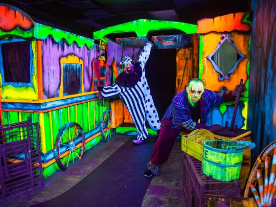 """Big Top Terror: Forgotten Carnival in 3D"" is among the haunted mazes at Six Flags Great Adventure in Jackson."