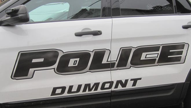 Dumont patrol car logo.