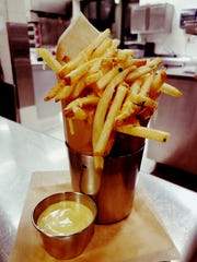 Wine Country Bistro's fries