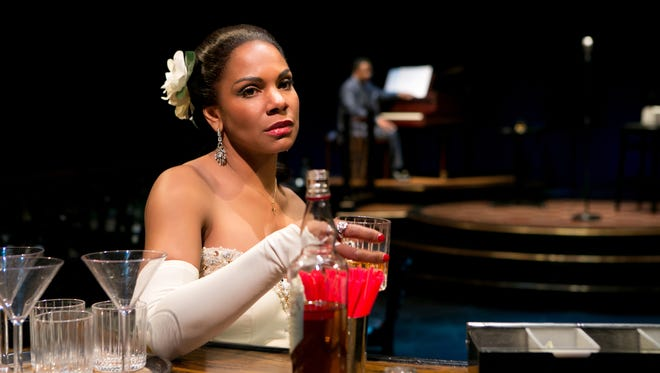 "This photo provided by Jeffrey Richards Associates shows Audra McDonald as Billie Holiday in ""Lady Day at Emerson's Bar & Grill""."