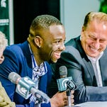 Draymond Green, former Michigan State Spartan and now NBA Champion Golden State Warrior, donated $3.1 million to MSU athletics on Thursday.