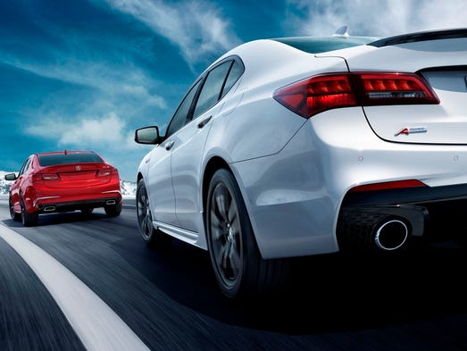 The 2018 Acura TLX.