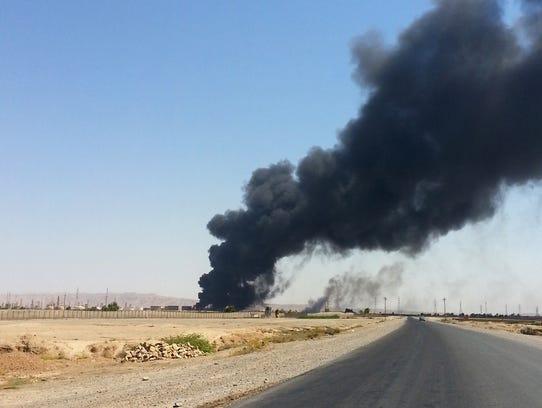 Iraq refinery