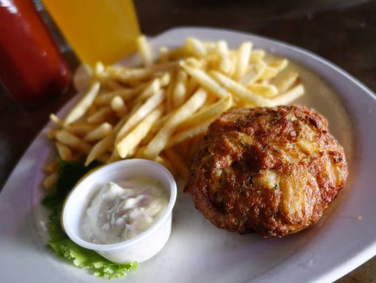 When it comes to Maryland crab cakes, less is more.
