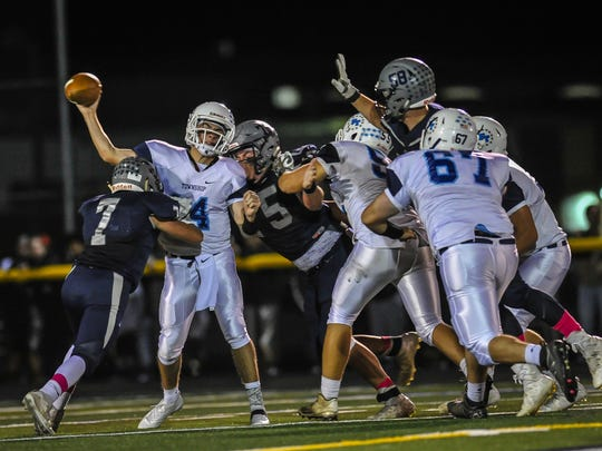 Freehold Township at Howell football in Howell on Oct. 20, 2017.